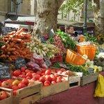 The market in Aiz