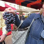 Fresh grapes from the market
