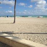 View of beachfront