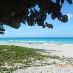Beach in dowtown Varadero