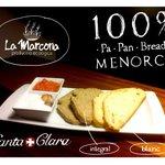 100% Menorca pa · pan · bread
