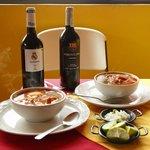Comida y vinos españoles