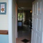main door of our room