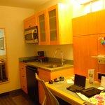 kitchenette + bureau