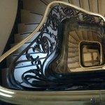 Escada charmosa