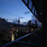 Fin du coucher de soleil