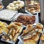 pratos regionais do café da manhã