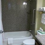 vista general de baño