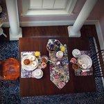 Polly Harper Room breakfast area