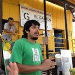Federico describing El Galpon's mission