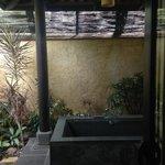 Divine outdoor bath.