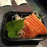 Salmon sashimi... Fresh