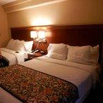 Queen/queen rooms