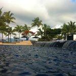 Pool at the Hilton