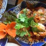 Jumbo Shrimp and Lemon Grass Salad