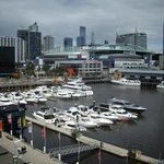 View over Docklands Marina