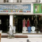 Neighboring tailors - seemingly with a complete absence of customers...