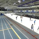 Running track and 400 M ice track