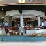 クラブルーム宿泊者用の朝食ラウンジ 9F中華レストラン