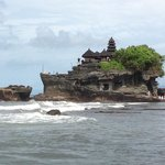 Tanah Lot during the day