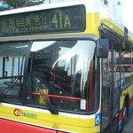 Bus41A opposite IBIS Hotel