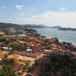 Pantai Chenang village view