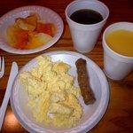 Typisches Frühstück