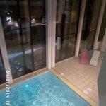 piscine chauffée aprés le ski un plaisir