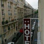 otelin olduğu sokak
