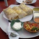 Chicken enchiladas!! Yummy