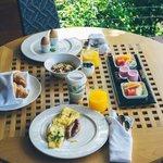 In-room breakfast