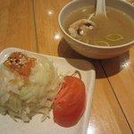 soupe et salade