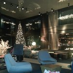 Hotel Lobby before Christmas