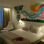 la chambre et son decor