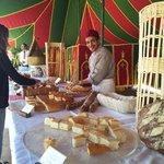 Bravo a Monsieur Rachid qui nous a régalé avec la diversité de ses pains photo du buffet du  1er