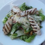 Salad with Grilled Rosemary Chicken