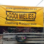 Affipad boskombuis is also home of Gooi mielies! Tongue in cheek novelty T-shirt brand