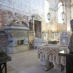 le choeur : un musée archéologique