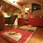 Spa facility in our gothic cellar