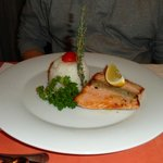 Lachs at Janos Restaurant