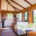 Interior of smaller cottage
