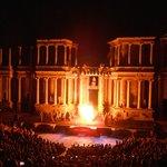 Impresionante representación de Áyax en el Teatro romano de Mérida (2012)