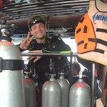 Nico preppedfor a dive