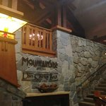 Entrance to the on site restaurant - Mammoth Grill