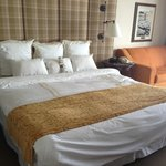 Huge comfortable bed
