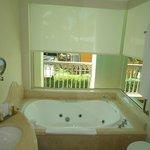 banheiro com vista panoramica