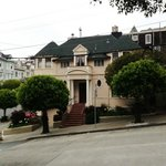 The house where 'Mrs Doubtfire' was filmed - a short walk from the hotel