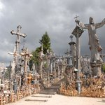 Thousands of crosses in one place