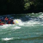 el rio manso al limite con chile