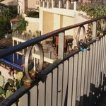 エトナ山・・・タオルミーナ展望広場の手すりの鍵